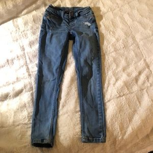 Justice 8 slim denim jeans girls pants